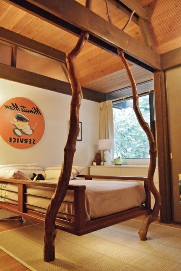 idées-déco- chambre-petit-garçon-arbre-bois-ivoire-classe-style