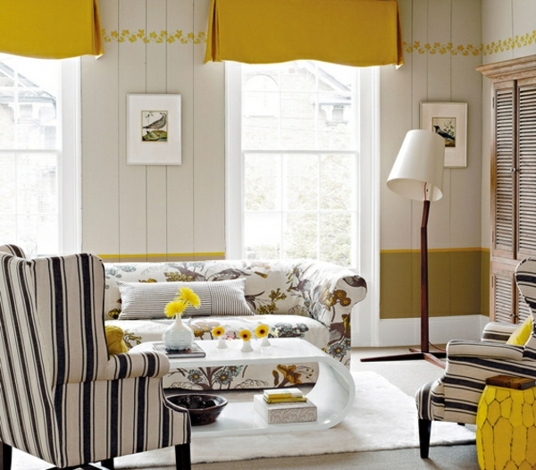idee-deco-salon-jaune-canapé