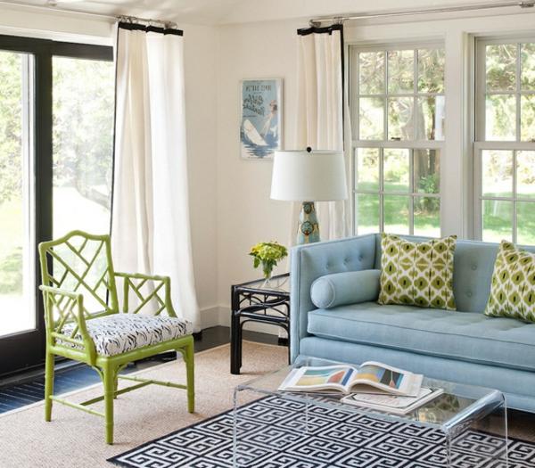 idee-deco-salon-une-chaise-vert