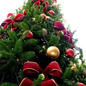 Un, deux, trois- l' idee deco sapin de  Noël est là!