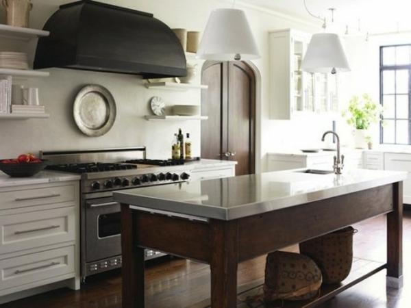 Lot central cuisine ikea et autres l 39 espace de cuisson for Ilot central blanc