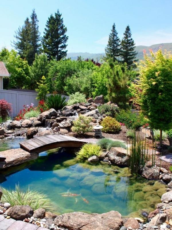 Etang de jardin polyester meilleures id es cr atives pour la conception de la maison for Bassin de jardin facile