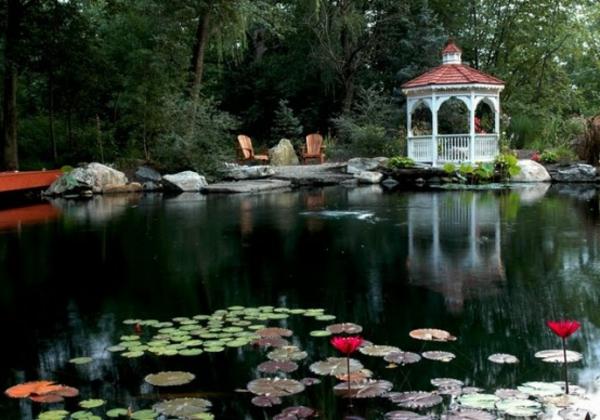 27 id s pour le bassin de jardin pr form hors sol - Grand bassin de jardin ...