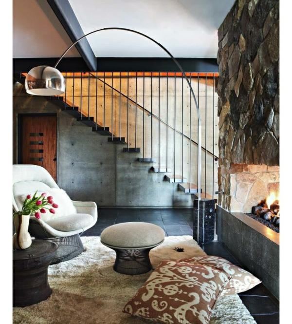 la lampadaire arco led unique des castiglioni 39 s. Black Bedroom Furniture Sets. Home Design Ideas