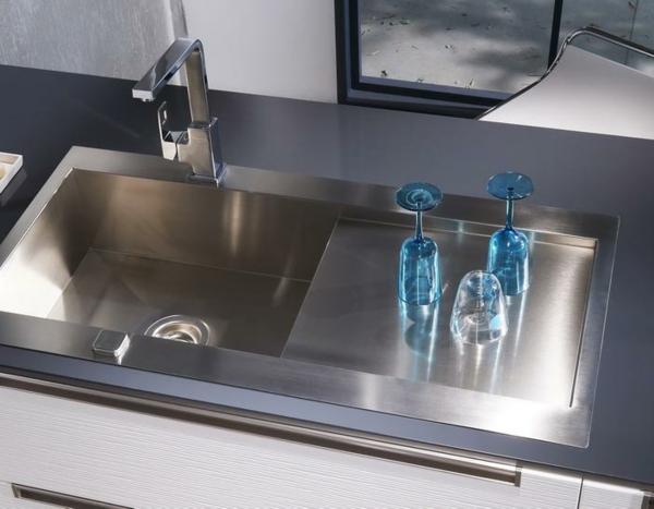 lavabo-métale-cuisine-lapeyre-