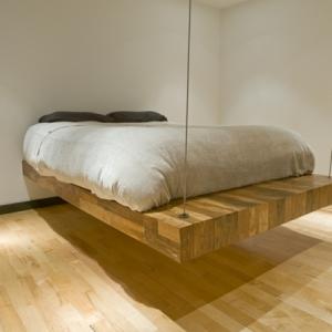 Le lit suspendu et ses modifications différents