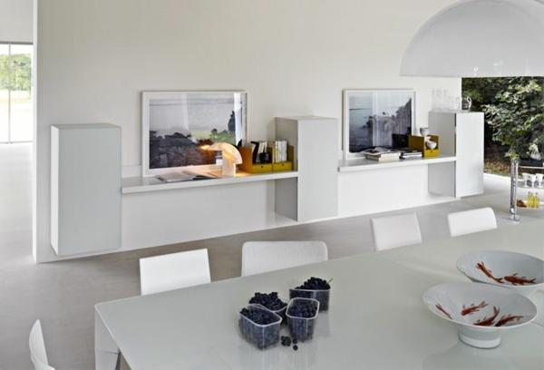 Meuble design unique modules forte piano de molteni for Armoire salle a manger
