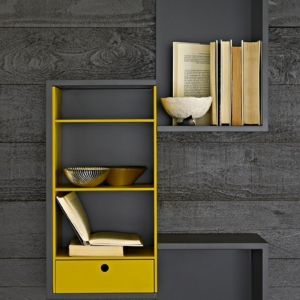Meuble design unique - modules Forte Piano de Molteni