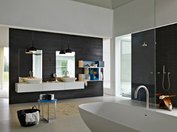 Meuble design unique modules forte piano de molteni - Mobilier salle de bain design pas cher ...