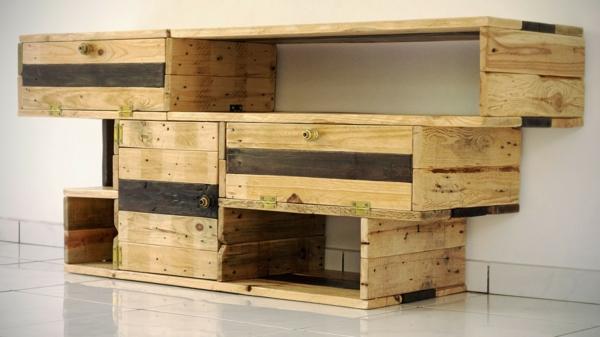 Un meuble en palette beaucoup des possibilit es for Meuble de palette