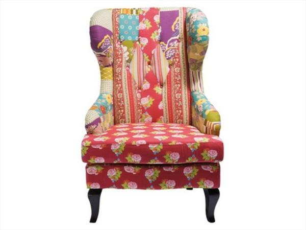 Fauteuil colore canape colore luxury fauteuil color for Chaise en tissu colore