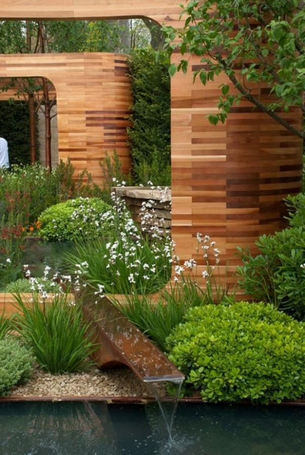 27 id s pour le bassin de jardin pr form hors sol. Black Bedroom Furniture Sets. Home Design Ideas