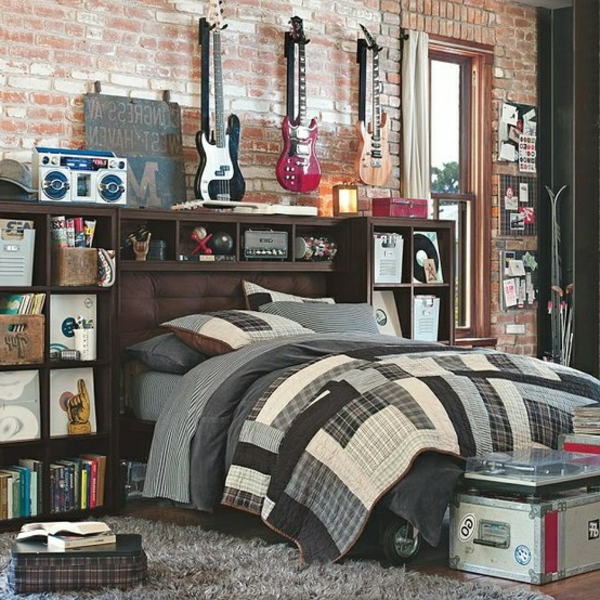 31 id es d co chambre gar on. Black Bedroom Furniture Sets. Home Design Ideas