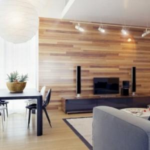 21 idées déco salon  aux couleurs et matériels naturels - bois