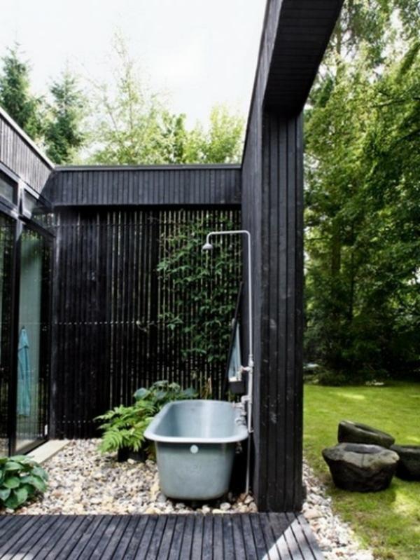 Le mod le de salle de bain ext rieur puret pour l 39 esprit et le corp - Salle de jardin exterieur ...