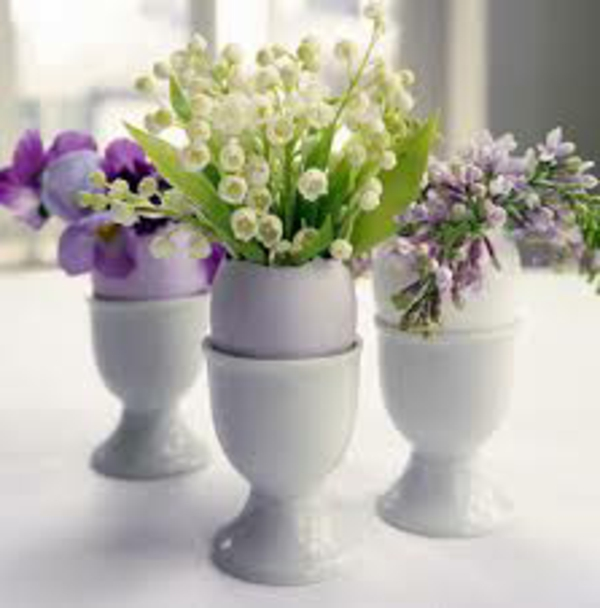 Comment décorer une table -souffle de printemps 58 photos