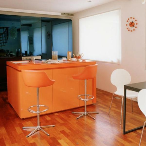 orange-décoration-espace-de-cuisson