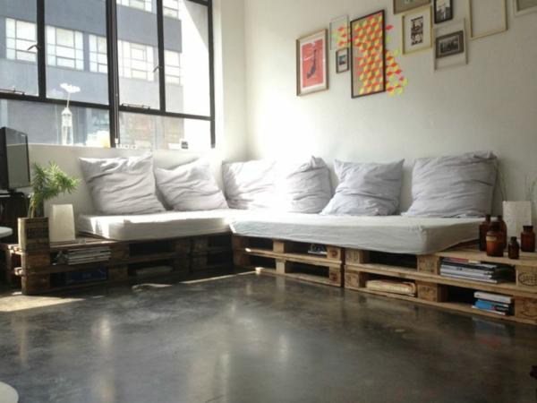 Le canap en palette nos nouvelles id es de r cup for Salon en palette
