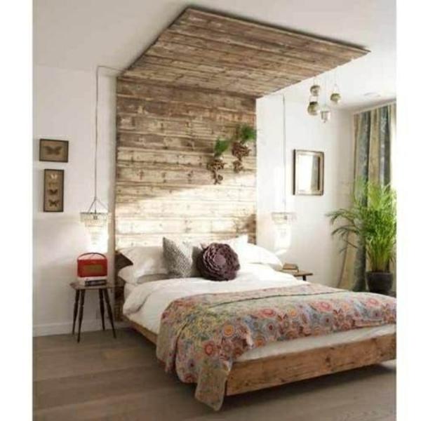 palette-bois-déco-lit