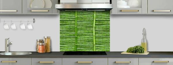 palissade-bambou-vert-cuisine-contemporain