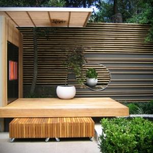 La palissade bambou japonaise - confortable et pratique