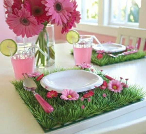 rose-vert-Les decorer-une-table-de-Pâques