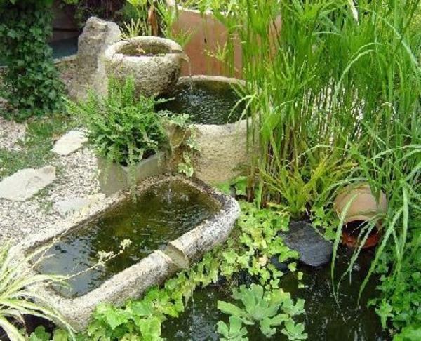 Cascade et fontaine de jardin 69 d co pour les moments for Decoration originale pour le jardin