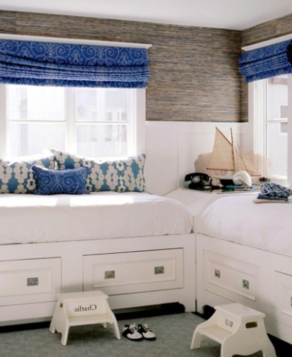 31 id es d co chambre gar on - Deco chambre adulte bleu ...