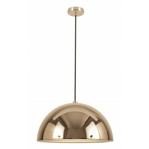 suspension-dome-argente-lampes-lauire