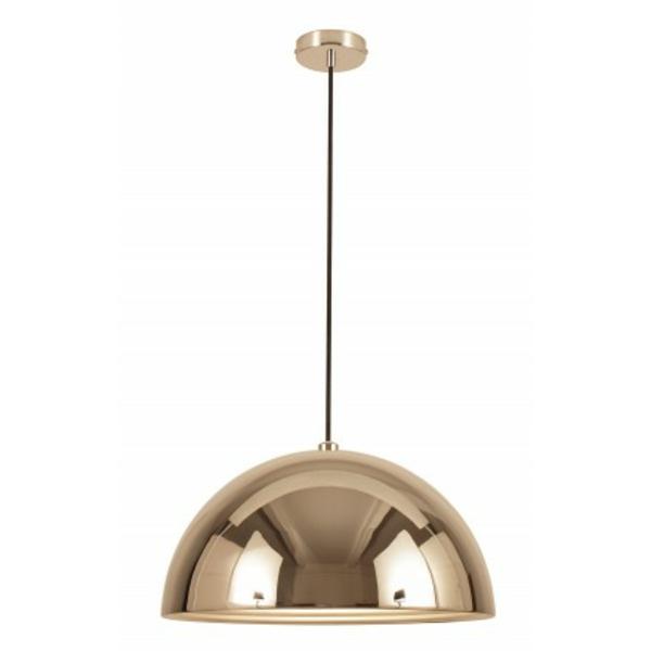 suspension-dome-argente-lampes-lauire