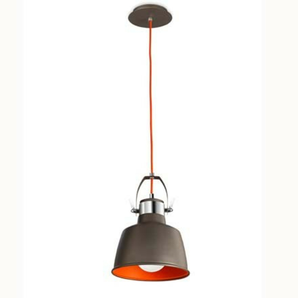 suspension-vintage-noir-orange-luminaires-laurie