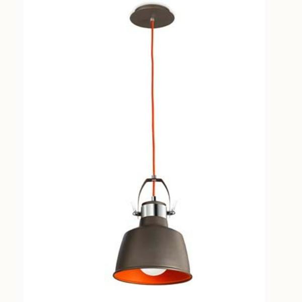 suspension-vintage-noir-orange-luminaires-laurie