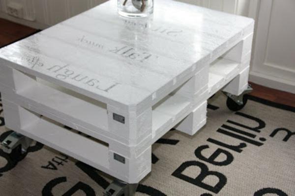 Construire table basse palette r cup et d co simpa - Faire une table basse avec des palettes ...