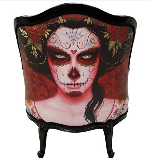 unique-chaise-contamporain-rouge-Slipstream Throne-by-Dan-Baldwin