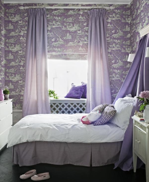 violet-lit-déco-chambre-fille
