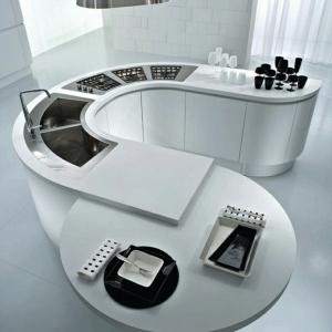 La cuisine avec îlot central - idées de décoration et design
