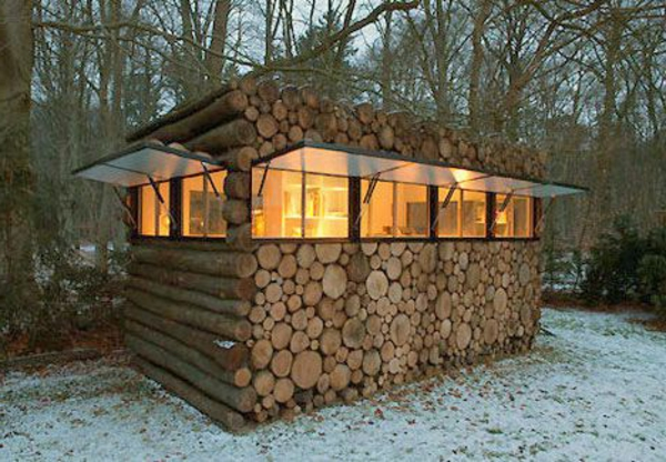Un abri de jardin design differents for Construire un cabanon de jardin en bois