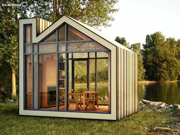 Un abri de jardin design differents for Cabane de jardin design