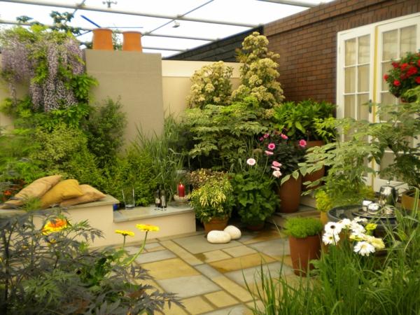 Comment aménager un petit jardin, idée déco original - Archzine.fr