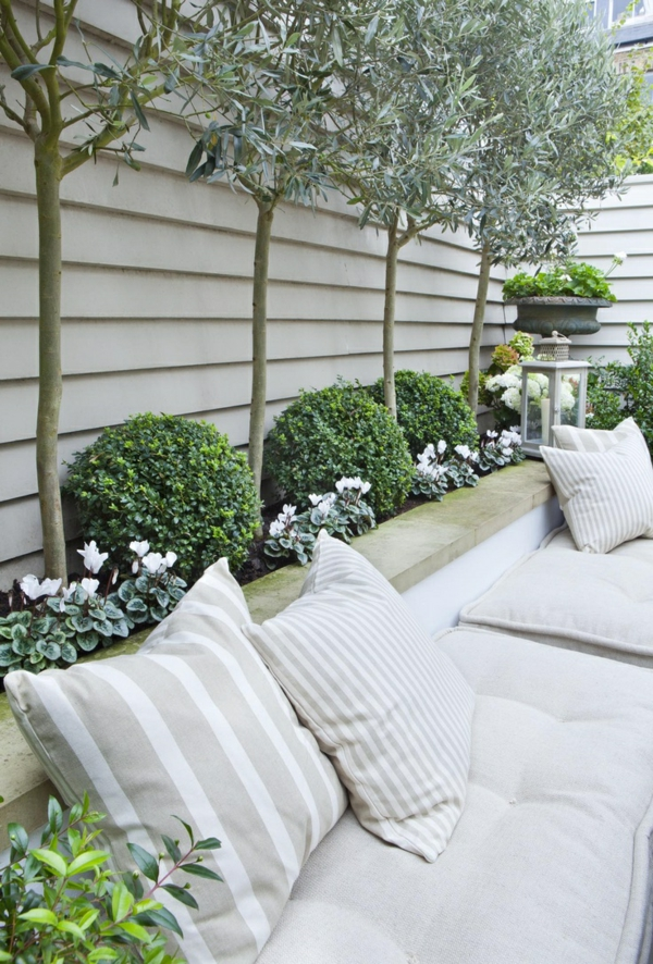 Comment am nager un petit jardin id e d co original - Comment decorer un grand mur blanc ...