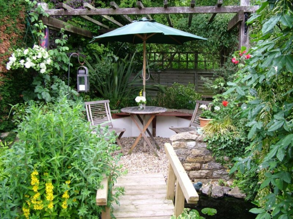 Comment am nager un petit jardin id e d co original - Idee amenagement jardin de ville ...