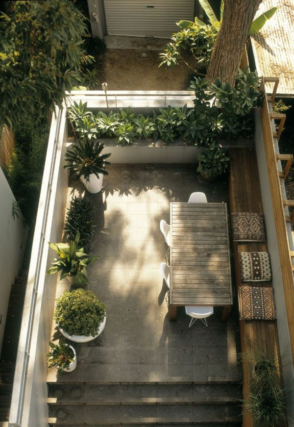 Comment am nager un petit jardin id e d co original - Amenager son balcon pas cher ...