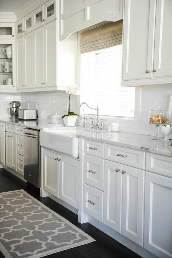 La cuisine blanche d 39 hier et aujourd 39 hui - Cuisine blanche ikea ...