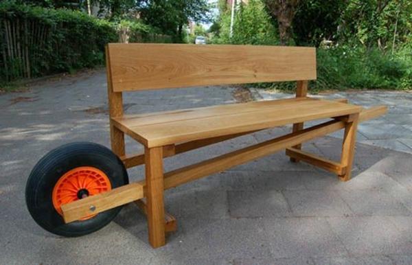 Des mobilier de jardin id es pour le jardin for Banc de jardin original