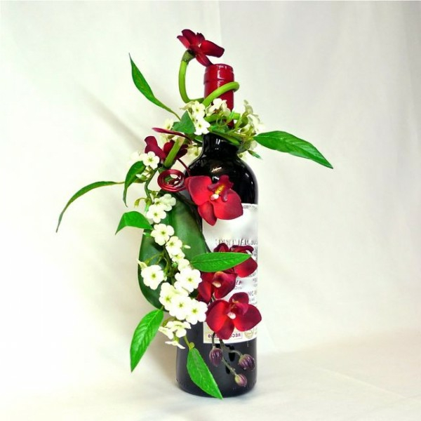 Comment faire une composition florale originale - Comment faire composition florale avec mousse ...