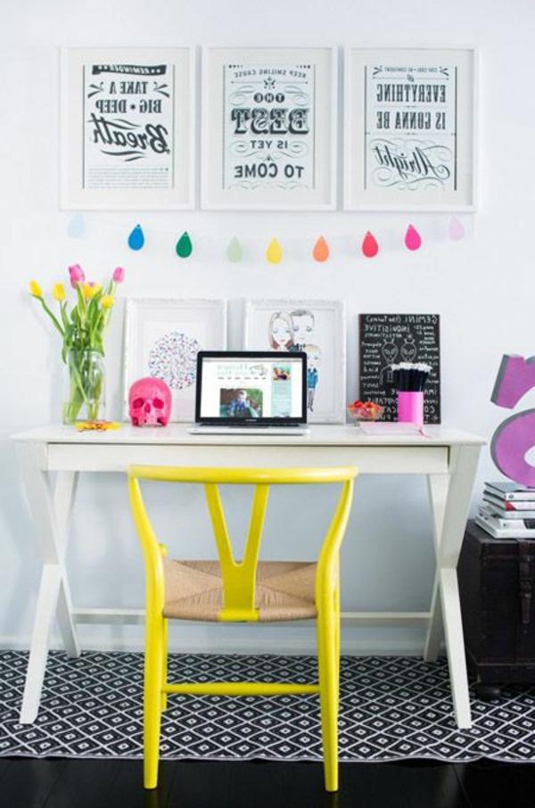 bureau-déco-chambre-ado-fille-coloré