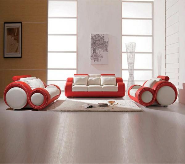 canape-moderne-unique-design-blanc-rouge