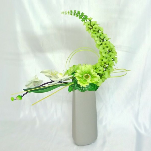 Comment faire une composition florale originale - Composition florale centre de table ...