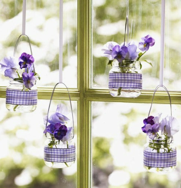 Comment faire une composition florale originale - Fleurs printemps idees originales pour une belle deco florale ...