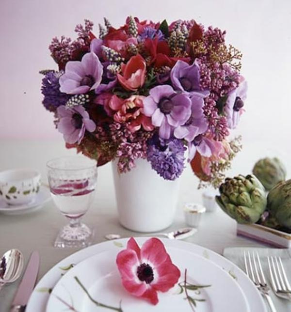 idee deco composition florale de noel originale 1000. Black Bedroom Furniture Sets. Home Design Ideas